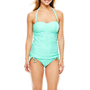 Aqua Couture Molded Bandeaukini Swim Top or Side-Tie Bottoms