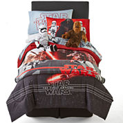 Star Wars Episode 7: The Force Awakens Reversible Twin/Full Comforter Set & Accessories