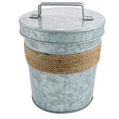 Cambridge® Shiloh Galvanized Ice Bucket