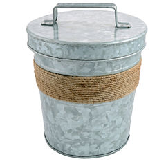 Cambridge® Shiloh Galvanized Ice Bucket