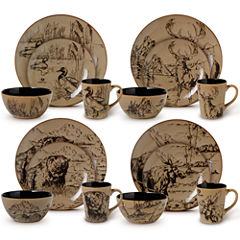 Pfaltzgraff® Mossy Oak 16-pc. Dinnerware Set