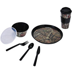 Mossy Oak® Break-Up Infinity Camouflage 6-pc. Lunch Set