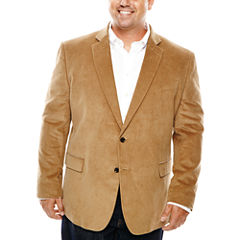 Stafford® Signature Corduroy Sport Coat - Portly