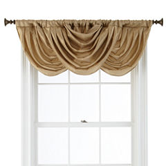 Royal Velvet® Britton Rod-Pocket Waterfall Valance
