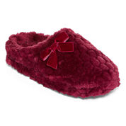 Liz Claiborne Plush Clog Slippers
