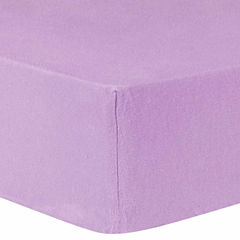 Trend Lab Lilac Deluxe Flannel Crib Sheet