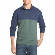 IZOD® Long-Sleeve Mock Shirt