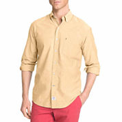 Izod® Long-Sleeve Plaid Button Front Shirt