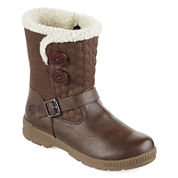 Totes Jennifer Short Quilted Winter Boots