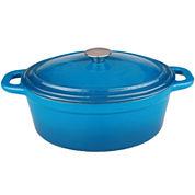 BergHOFF® Neo 8-qt. Oval Cast Iron Casserole Dish