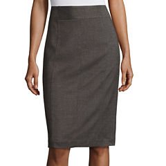 Worthington® Seam-Detail Pencil Skirt - Tall