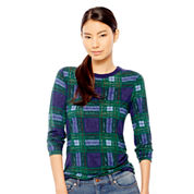 Joe Fresh™ Long-Sleeve Plaid T-Shirt