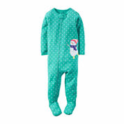 Carter's Girl 1pc Sleeper 2T-5T