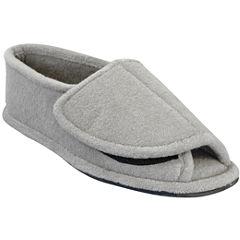 MUK LUKS® Mens Terry Open-Toe Slippers