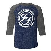 Novelty Season 3/4 Sleeve Graphic T-Shirt