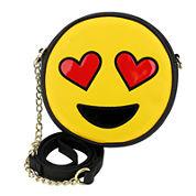 Olivia Miller Hearts Emoji Crossbody Bag