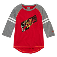 Puma Graphic T-Shirt-Preschool Girls