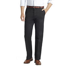IZOD Slim-Fit Flat-Front Chinos