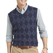 IZOD® Fine Gauge Argyle Sweater Vest