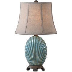 Seashell Buffet Table Lamp