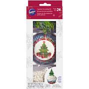 Wilton® Christmas Tree Cupcake Decorating Kit