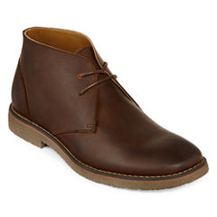 St. John's Bay® Clutch Mens Leather Boots