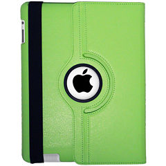 Natico Faux Leather 360° Degree Rotating Case for iPad®