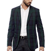 WD-NY® Blackwatch Plaid Sport Coat - Slim Fit