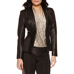 Bisou Bisou Long Sleeve Seamed Jacket