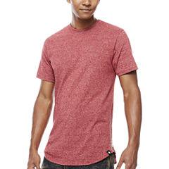 Southpole Side Zip Crew Neck T-Shirt