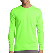 Xersion™ Waffle Long Sleeve Crew