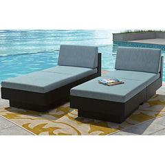 Park Terrace 4-pc. Lounger Patio Set