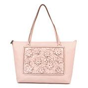 Liz Claiborne Liza 3D Floral Tote Bag