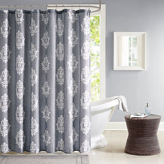 Madison Park Kensington Texture Shower Curtain