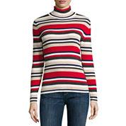 Liz Claiborne Long Sleeve Turtleneck Pullover Sweater