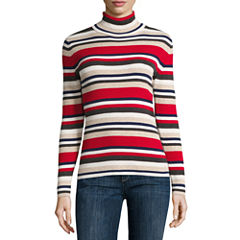 Liz Claiborne Long Sleeve Turtleneck Pullover Sweater