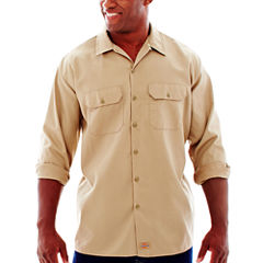 Dickies® Long-Sleeve Work Shirt - Big & Tall