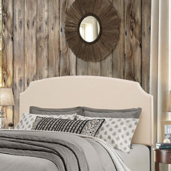 bedroom possibilities addison upholstered headboard - Metal Bed Frame With Headboard