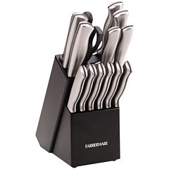 Farberware® 15-Piece Stainless Steel Knife Set
