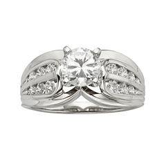 Diamonore™ 1¼ CT. T.W. Simulated Diamond Double-Side Ring