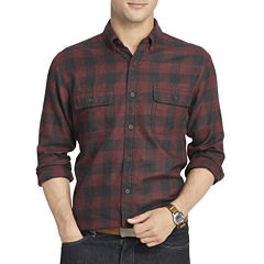 Arrow® Long-Sleeve Hunting Plaid Woven Shirt