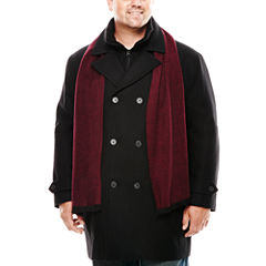 JF J. Ferrar® Black Hybrid Coat - Big & Tall