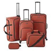 Protocol® Simmons 5-pc. Luggage Set