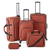 Protocol® Simmons 5-pc. Luggage Set