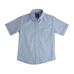 French Toast® Short-Sleeve Oxford Dress Shirt - Boys 8-20 and Husky