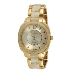 Peugeot® Womens Two-Tone Bracelet Watch 7096GCR
