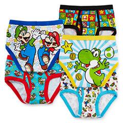 5-pk. Super Mario Brothers Briefs - Boys 4-8