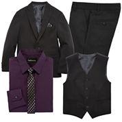 Van Heusen® Black Suit Separates - Boys 8-20