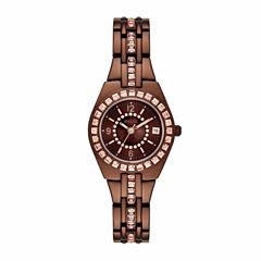 Relic Womens Brown Bracelet Watch-Zr12195