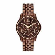Relic Womens Brown Bracelet Watch-Zr15852